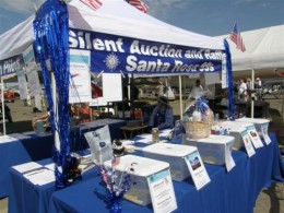 SR99s Silent Auction & Food Booth at the Pacific Coast Airshow in Santa Rosa